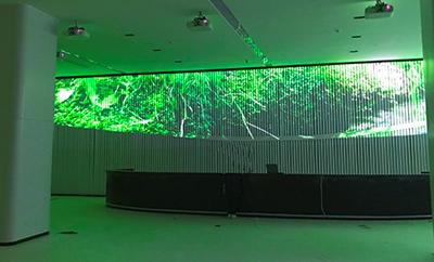 展厅墙面投影