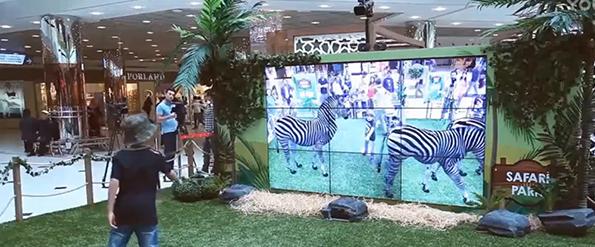 AR大屏互动系统
